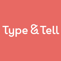 Type & Tell's logo