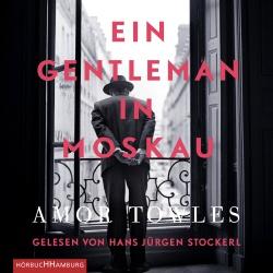 Cover für das Ein Gentleman in Moskau Hörbuch