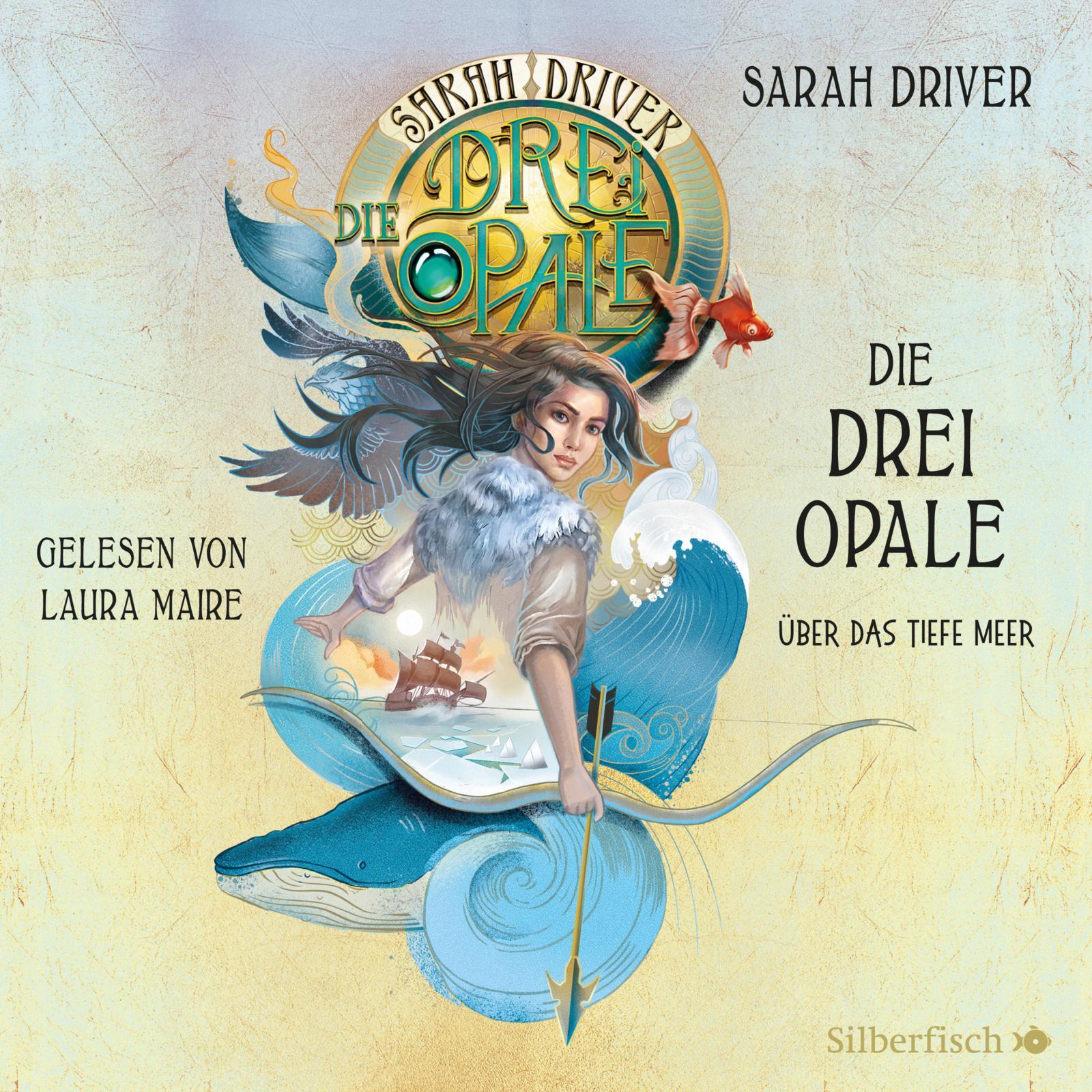 Cover für das Die drei Opale 1: Über das tiefe Meer  Hörbuch