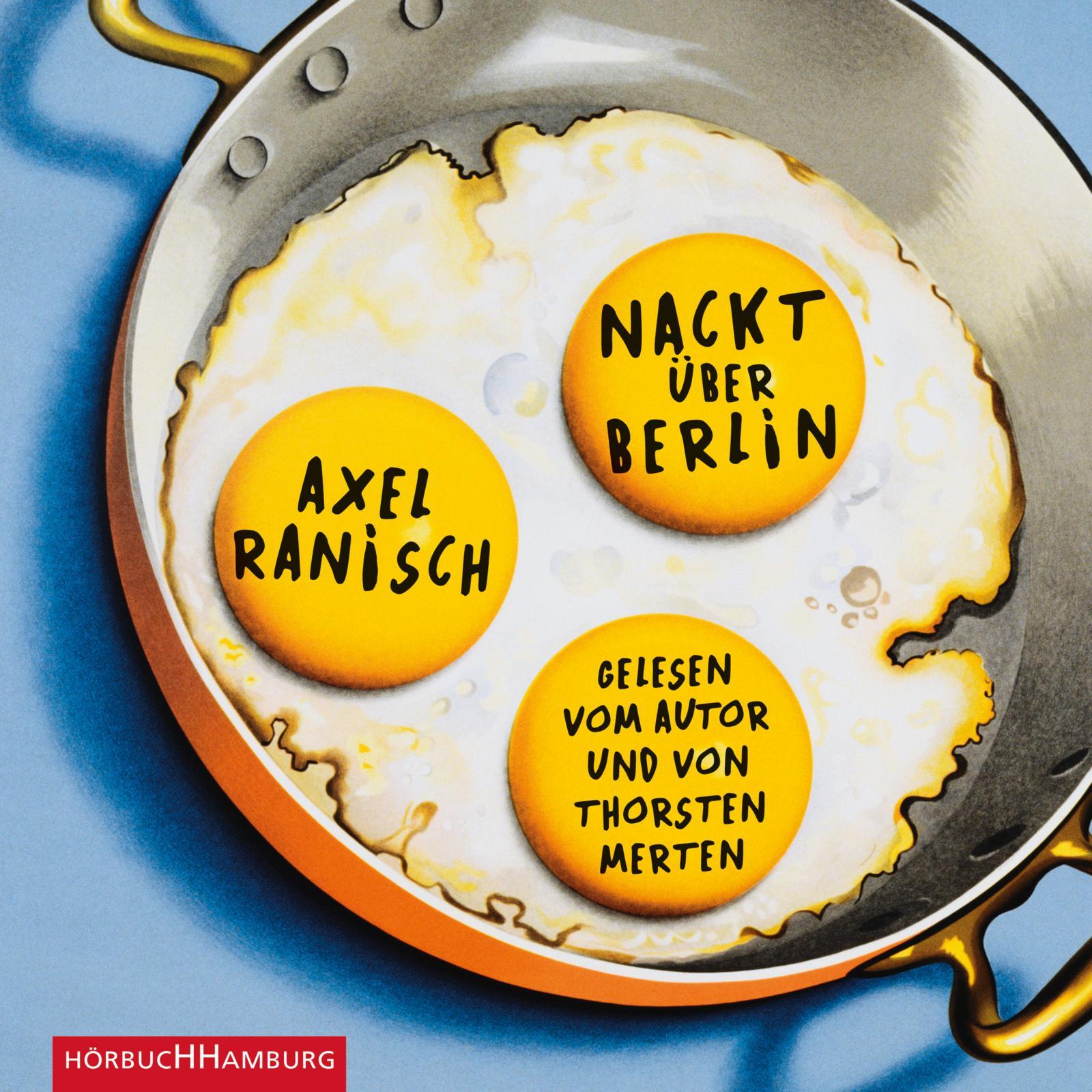 Cover für das Nackt über Berlin Hörbuch