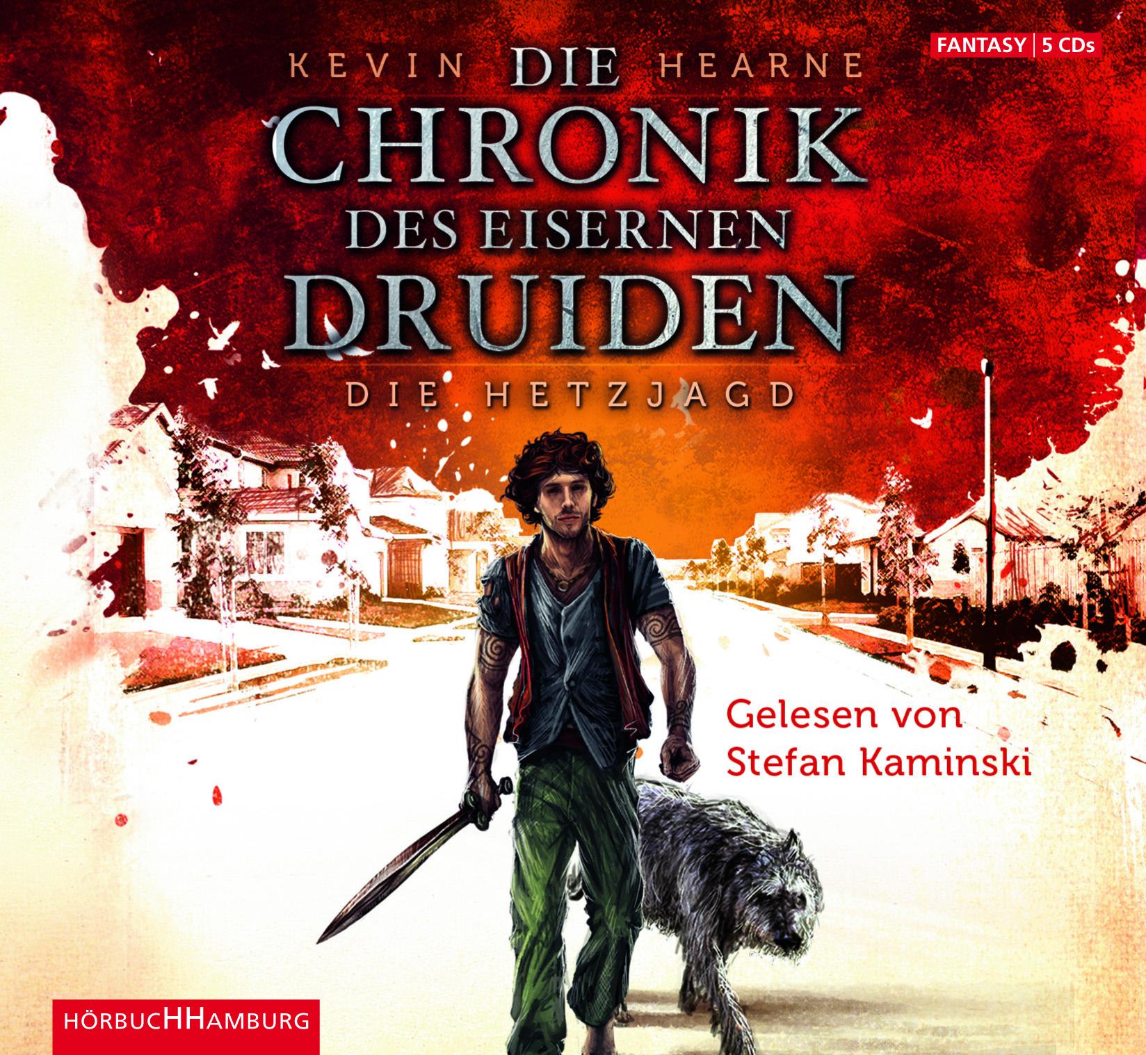 Cover für das Die Chronik des Eisernen Druiden 1 Hörbuch
