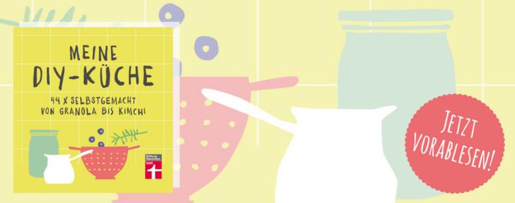 """Banner """"Meine DIY-Küche"""" jetzt vorablesen!"""