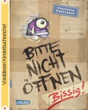 Cover für Bitte nicht öffnen Band 1: Bissig!