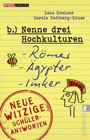 Cover für  Nenne drei Hochkulturen: Römer, Ägypter, Imker