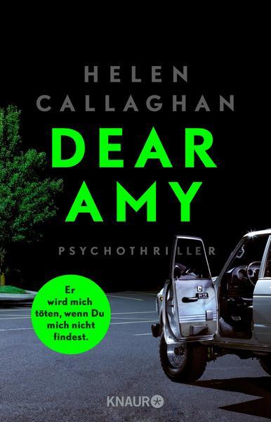 Cover für DEAR AMY - Er wird mich töten, wenn Du mich nicht findest