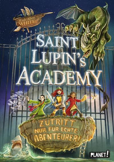 Cover für Saint Lupin's Academy – Zutritt nur für echte Abenteurer!