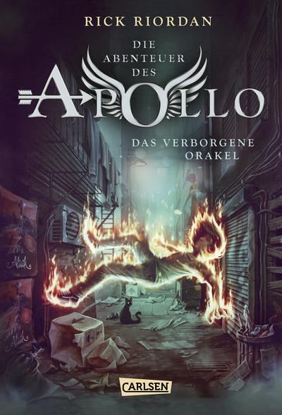 Cover für Die Abenteuer des Apollo 1: Das verborgene Orakel