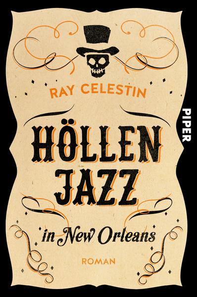 Cover für Höllenjazz in New Orleans