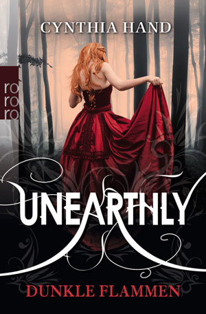 Cover für Unearthly. Dunkle Flammen